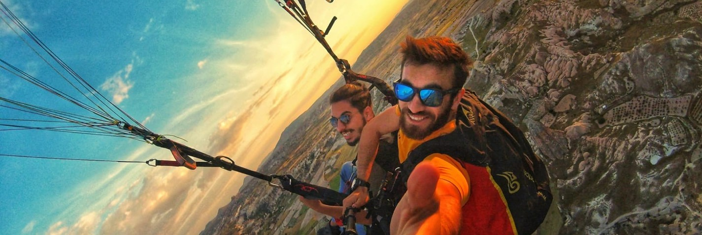 Cappadocia Paragliding Tours with Professional Pilots
