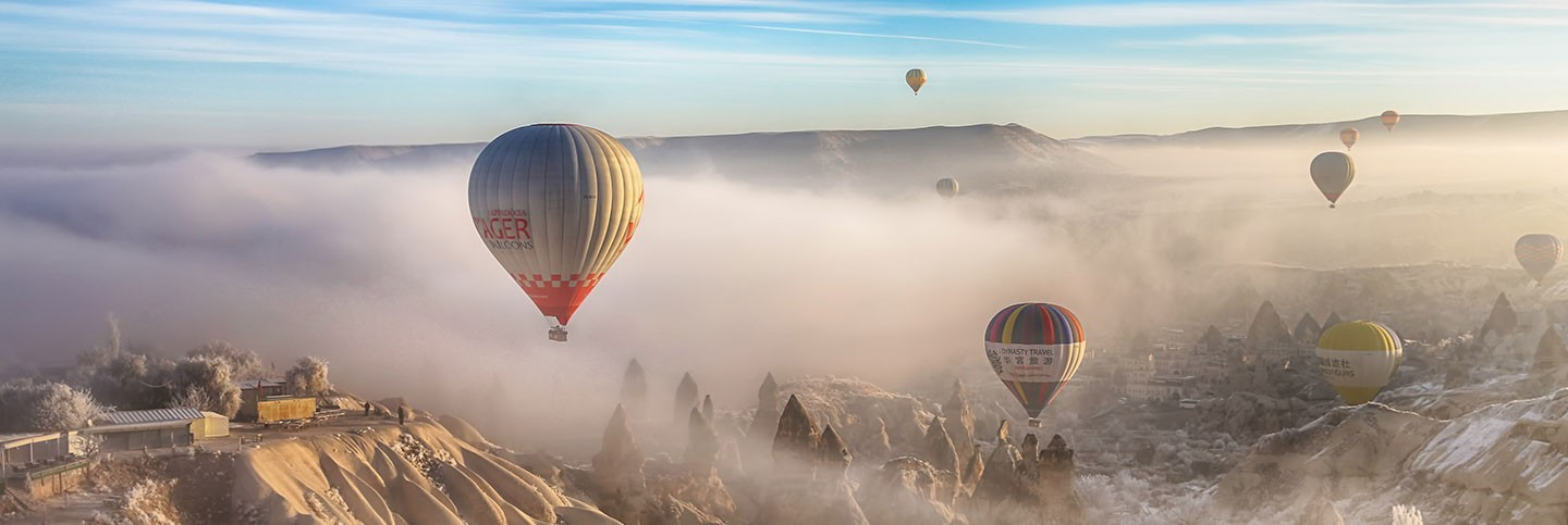 GOREME BALLOON FLIGHT + Red Tour/Blue Tour (Subject to Availability North /Underground City Tour)